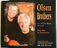 "EUROVISION : OLSEN BROTHERS - SINGLE CD ""FLY ON THE MOON OF LOVE"""