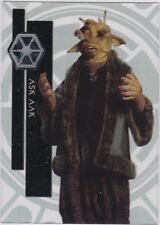 STAR WARS 2015 TOPPS HIGH TEK 53 ASK AAK FORM 1 PATTERN 1 THRONE ROOM