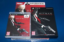JEU PS3 HITMAN ABSOLUTION + GUIDE NEUF + ARTBOOK  BLES 01403