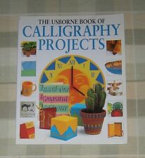 Book SC Usborne - Calligraphy Projects                    #CM21