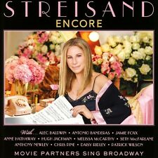 BARBRA STREISAND - ENCORE: MOVIE PARTNERS SING BROADWAY   CD NEU