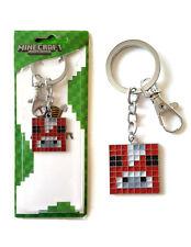 Minecraft Cow Pendant Keychain