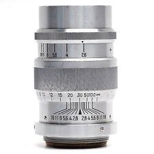 Minolta 8.5cm f2.8 Super Rokkor Lens