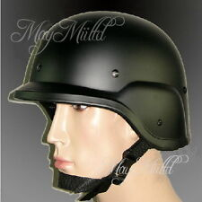 M88 Tactical Airsoft Kevlar PASGT SWAT USMC Military Replica Helmet Black W