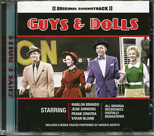 GUYS & DOLLS ORIGINAL SOUNDTRACK DIGITALLY REMASTERED CD, MARLON BRANDO