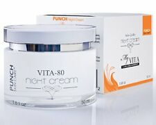 72% Amplified dermal stimulation and repair PUNCH Skin Care Vita Night Cream