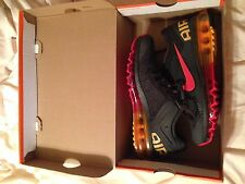 Nike Air Max+ 2013 Running Shoes 554886-068 Charcoal.Red.Orange U.S Mens 6 $180