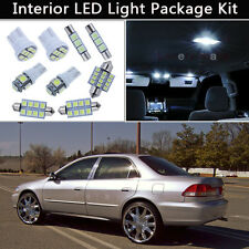 12PCS Bulbs White LED Interior Lights Package kit Fit 1998-2002 Honda Accord J1