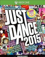 Just Dance 2015 (Microsoft Xbox One, 2014, NTSC-U/C (US/Canada) Region Game)