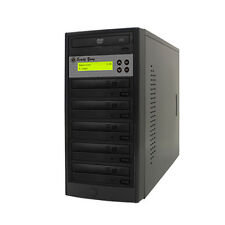 1 to 5 Target 24X SATA DVD CD Duplicator Tower Burner Multiple Disc Copier