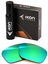 Polarized IKON Iridium Replacement Lenses For Oakley Holbrook LX Emerald Green