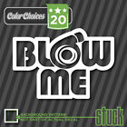 Blow Me - Turbo Decal Sticker JDM DSM Boost Pressure Supercharger Boosted