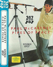 PAUL MCCARTNEY PIPES OF PEACE IMPORT SAUDI 747 CASSETTE ALBUM 16 TRACKS BEATLES