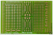 Universal SMD PCB Board SO9 - SO28S 80 x 60 mm 80x60mm Electronic Components