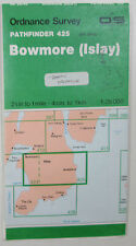 1988 OS Ordnance Survey Pathfinder 1:25000 map 425 Bowmore (Islay) NR 35/45