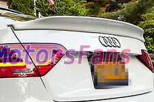 PAINTED CA STYLE TRUNK BOOT SPOILER Fit For AUDI A5 2Door COUPE 2008UP A026F
