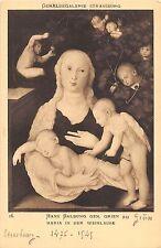 BF40684 hans baldung gen grien weilaube strasbourg vierges virgin holly lady