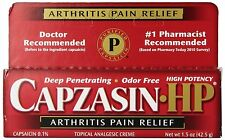 CAPZASIN HP arthritis muscle pain relief cream 1.5 oz
