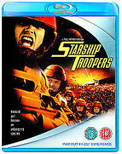 BLU-RAY  STARSHIP TROOPERS    NEW SEALED UK STOCK