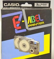 Casio EZ-Label Printer Ink Ribbon Cassette-2pcs-Clear - IR-9 -EZ Large Printer