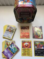 Pokemon carte bundle incluant tin et ex/full art/Lv.x, holos!!! rare!!!