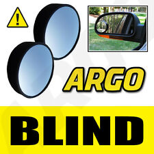 2 X BLIND SPOT CONVEX MIRRORS TOWING CAR SAFETY JEEP COMPASS