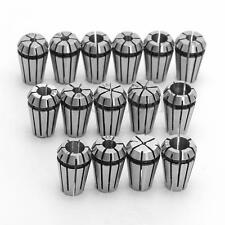 15PCS ER11 Spring Collet Set For CNC Engraving Machine & Milling Lathe Tool DIY