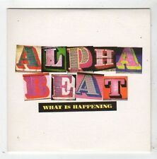 (FZ156) Alpha Beat, What Is Happening - 2008 DJ CD