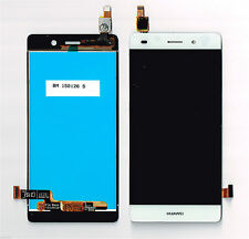 """GLS: DISPLAY LCD+ TOUCH SCREEN HUAWEI PER ASCEND P8 LITE 5,0"""" VETRO BIANCO NUOVO"""