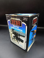 SEALED vintage Star Wars TRI-POD LASER CANNON Hoth accessory weapon ESB ROTJ mib