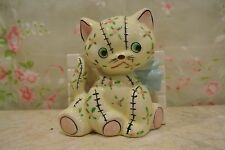 Vintage Yellow Chic Kitty Cat Kitten Planter Japan Napco