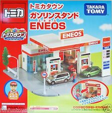 TAKARA TOMY TOMICA TOWN ENOS Gas Station ( NOT INCLUDED ANY CARS)