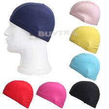 Top Unisex Nylon Swimming Men Women Adult Swim Spandex Fabric Easy Fit Hat Cap