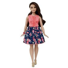 NEW Curvy Latina Barbie Fashionistas Doll Spring Into Style BNIB