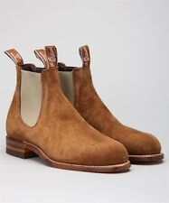 RM Williams Brown Suede Turnout Boots size 7G RRP $550