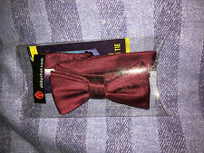 Doctor who  11th doctor   red bow  tie