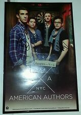 American Authors Signed Best Day Of My Life Group Autograph COA