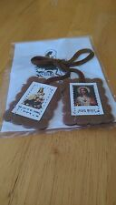 Brown Prayer Scapular Our Lady of Mount Carmel With Leaflet