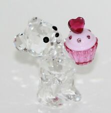Swarovski Figurine Kris Ours Rose Muffin N°5004484 mit Original Emballage