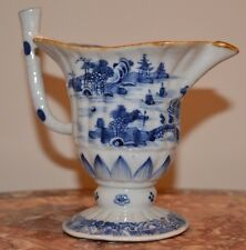 An 18th century Chinese blue and white porcelain jug