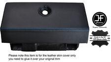 Costura Azul Caja de guantes funda de cuero adapta RENAULT ALPINE GTA V6