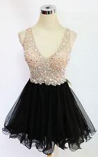 BLONDIE NITES BLACK Party Homecoming Dress 13 -$190 NWT