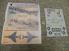 Eagle Strike  decals 1/48 48180  Last of the Many Marine Phantoms  Part 1    A19