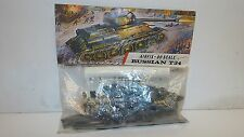 AIRFIX 00 SCALE RUSSIAN T34 TANK COMPLETE SEALED IN PACKET (K208)
