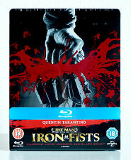 The Man with the Iron Fists (UK Limited Edition Steelbook) Blu-Ray / OOP