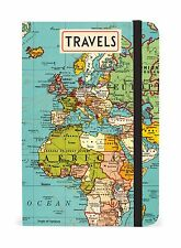 Cavallini & Co. Vintage Map Notebook 4x6