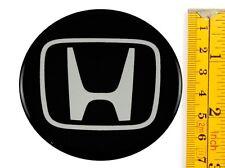 """Honda *4 x NEW* Emblems 70mm (2 3/4"""") WHEEL CENTER CAP STICKERS 3D DECALS"""