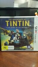 The Adventures of Tintin The Secret of the Unicorn (NO BOOKLET) NINTENDO 3DS
