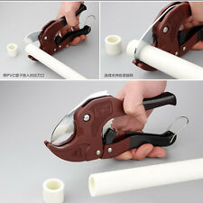 42mm PVC/PPR pipe cutter Pipeline Scissors Tubing cutter hose ratcheting cut