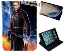 For Apple iPad Mini 1 2 3 Marvel Comics Hawkeye Arrow Avengers Case Cover DC